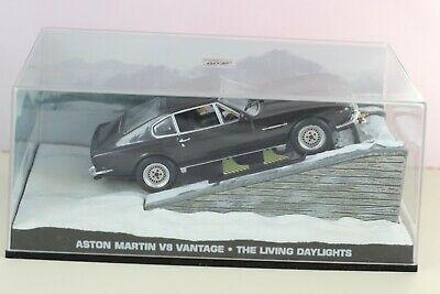 "Aston Martin V8 Vantage James Bond ""The Living Daytlights"" 1-43 Altaya James Bond Collection"
