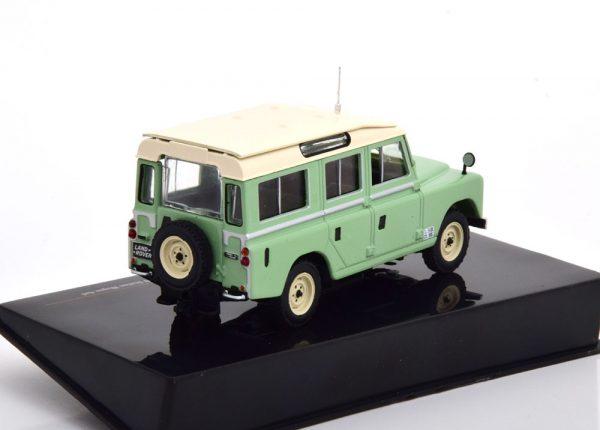 Land Rover 109 Serie 2 1958 Groen / Beige 1-43 Ixo Models