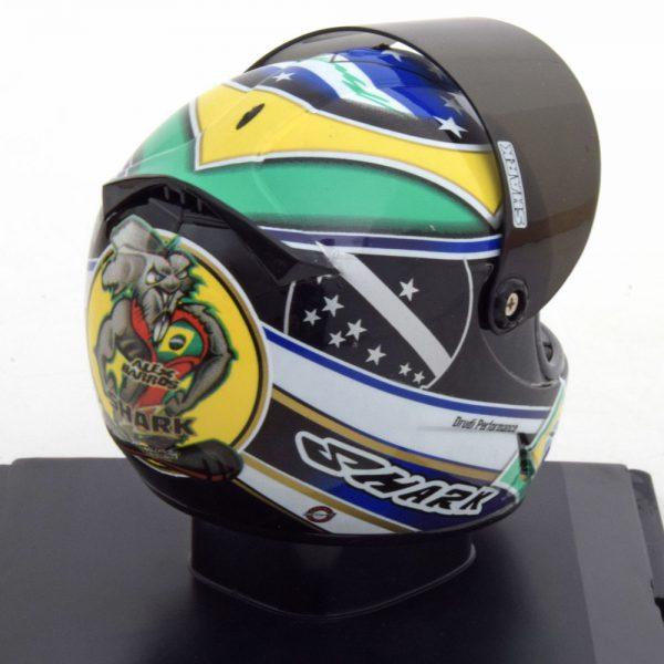 "Helm Moto GP 2007 ""Ducati"" Last Race Alex Barros 1-5 Altaya"
