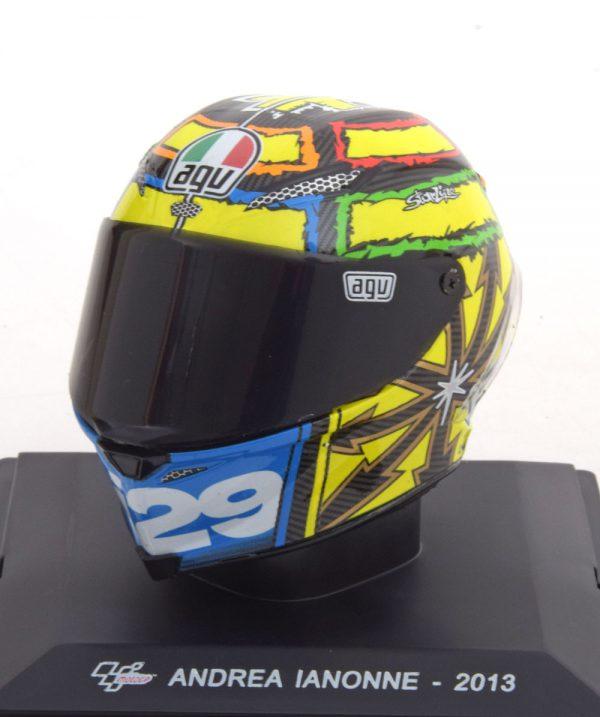 "Helm Moto GP 2013 ""Ducati""Andrea Ianonne 1-5 Altaya"