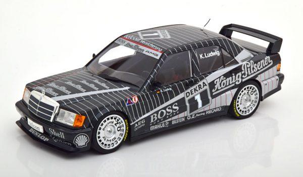 Mercedes-Benz 190E 2.5-16 EVO 1 Team AMG #2 DTM 1989 Klaus Ludwig 1:18 Minichamps Limited 528 Pieces