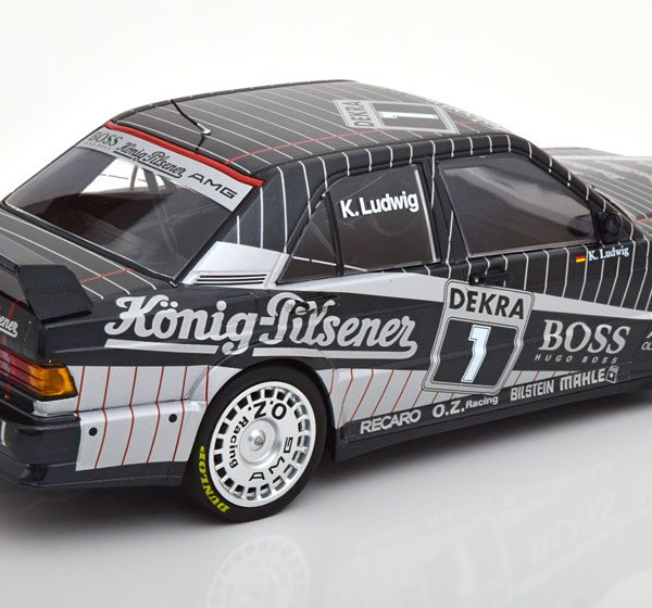 Mercedes-Benz 190E 2.5-16 EVO 1 Team AMG #2 DTM 1989 Klaus Ludwig 1:18 Minichamps Limited 528 Pieces
