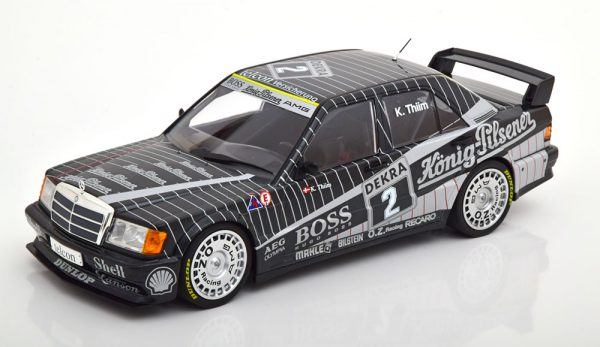Mercedes-Benz 190E 2.5-16 EVO 1 Team AMG #2 DTM 1989 Kurt Thiim 1:18 Minichamps Limited 354 Pieces