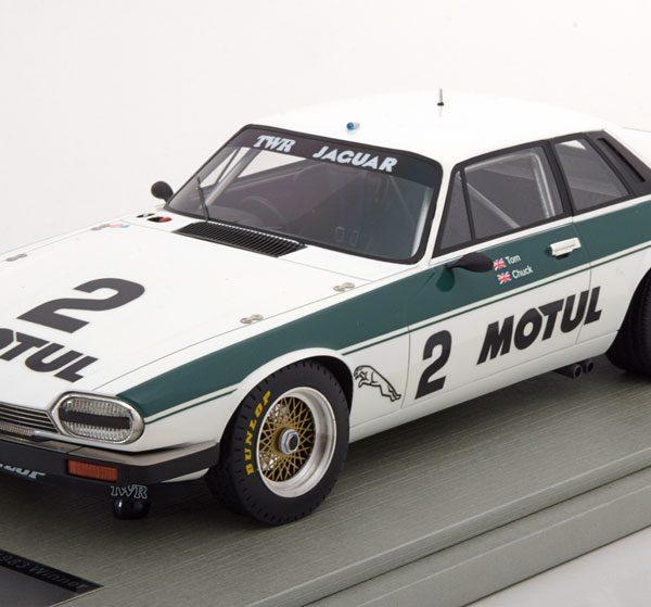Jaguar XJS TWR GP BRNO 1983 Jaguar Racing Team Car Nr# 2 Winner T.Walkinshaw / C.Nicholson 1-18 Tecnomodel Limited 95 Pieces
