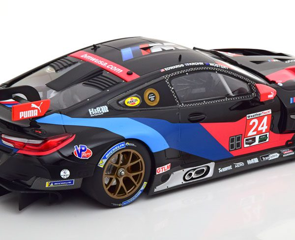 BMW M8 GTE No.24, 3rd in Class Petit Le Mans 2018 IMSA Edwards/Krohn/Mostert 1-18 Minichamps Limited 254 Pieces