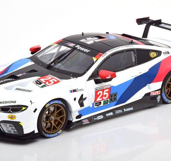 BMW M8 GTE No.25, 12h Sebring 2018 BMW Motorsport de Phillippi/Auberlen/Sims 1-18 Minichamps Limited 204 Pieces