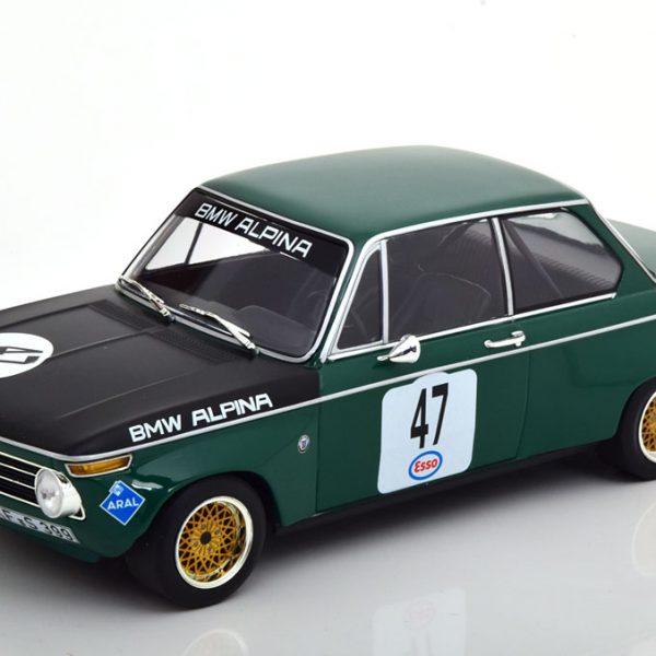 BMW 1600-2 Alpina No.47, ADAC Eifelrennen 1971 Nürburgring Meyer 1-18 Minichamps Limited 300 Pieces