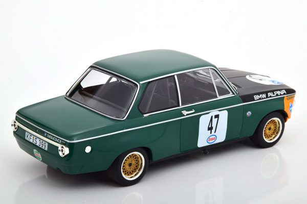 BMW 1600-2 Alpina No.47, ADAC Eifelrennen 1971 Nürburgring Meyer 1-18 Minichamps Limited 300 Pieces