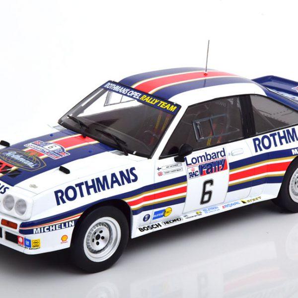 Opel Manta 400 No. 6, RAC Rally 1983 Rothmans Vatanen/Harryman 1-18 Ixo Models