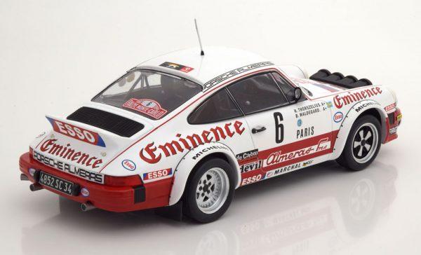 Porsche 911 SC No.6, Rally Monte Carlo 1982 Waldegard/Thorszelius 1-18 Ixo Models