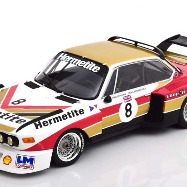 BMW 3.5 CSL No.8, 1000km Nürburgring 1976 Fitzpatrick/Walkinshaw 1-18 Minichamps Limited 300 Pieces