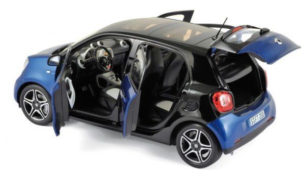 Smart Forfour 2015 Blauw / Zwart 1-18 Norev