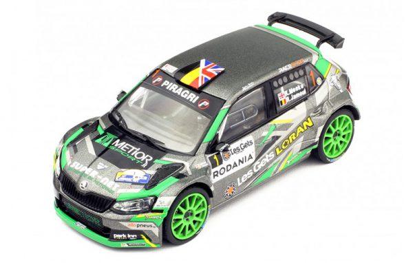 Skoda Fabia RS Nr# 1 Rally Condroz 2018 K.Meeke / R.Jamoul 1-18 Ixo Models