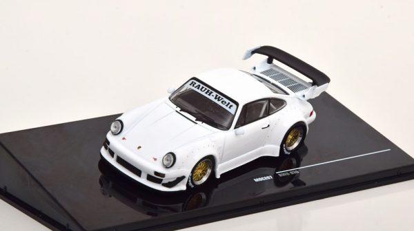 Porsche 911 (930) RWB 2018 Wit 1-43 Ixo Models
