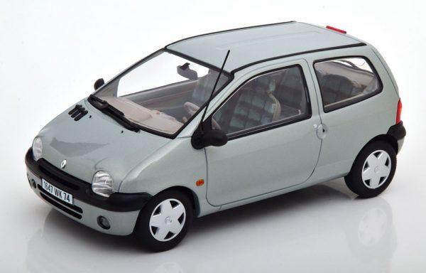 Renault Twingo 1998 Grijs Metallic 1-18 Norev