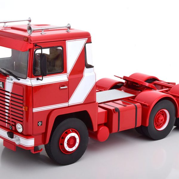Scania LBT 141 1976 Rood/Wit 1-18 Road Kings Limited 500 pcs.