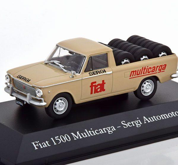 "Fiat 1500 Multicarga 1965 ""Sergi Automotores"" 1-43 Atlas"