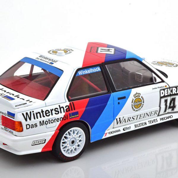 """BMW E30 M3 """"Warsteiner"""" Winner Norisring 1992 Winkelhock 1-18 Solido"""