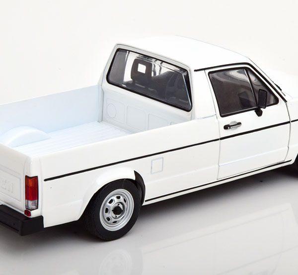 Volkswagen Caddy MK1 1982 Wit 1-18 Solido