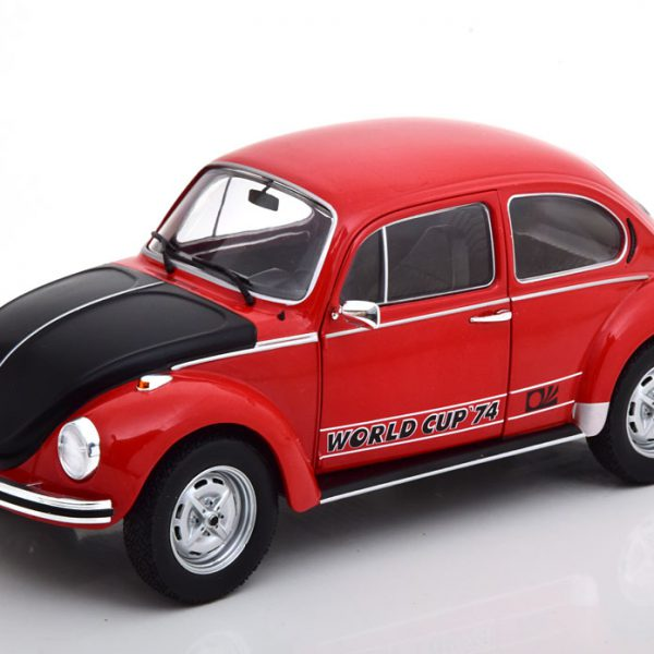 Volkswagen Kever 1303 World Cup Edition 1974 Rood 1-18 Solido