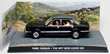 "Ford Taunus James Bond ""The Spy who Loved Me"" Zwart 1-43 Altaya James Bond Collection"