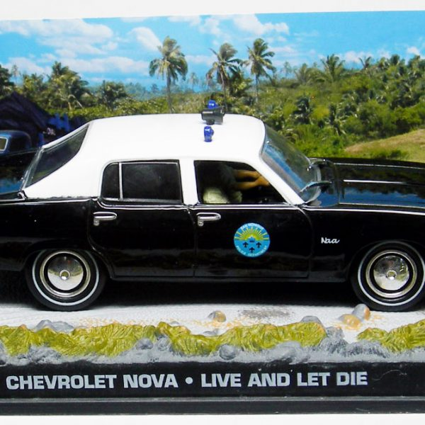 "Chevrolet Nova James Bond ""Live and Let Die"" 1-43 Altaya James Bond 007 Collection"