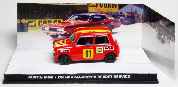 """Austin Mini James Bond """"On Her Majesty's Secret Service"""" 1-43 Altaya James Bond 007 Collection"""