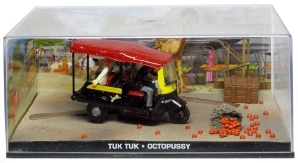 "Tuk Tuk James Bond ""Octopussy"" 1-43 Altaya James Bond 007 Collection"