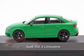 Audi RS 3 Limousine 2016 Groen 1-43 Iscale