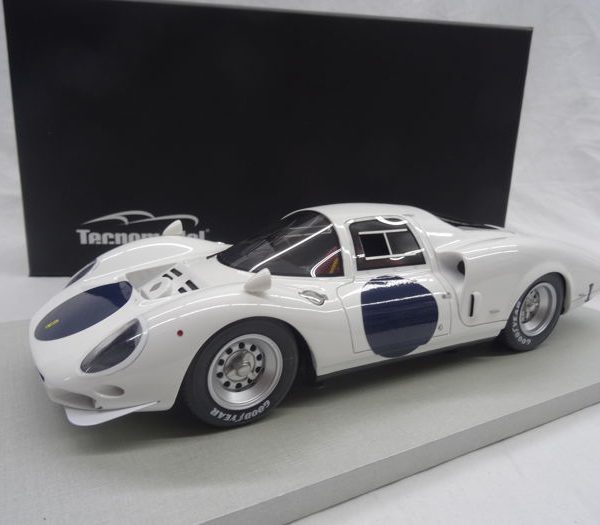 Ferrari 365 P2 White Elephant Presentation 24h LM 1966 1-18 Tecnomodels Limited 100 pcs