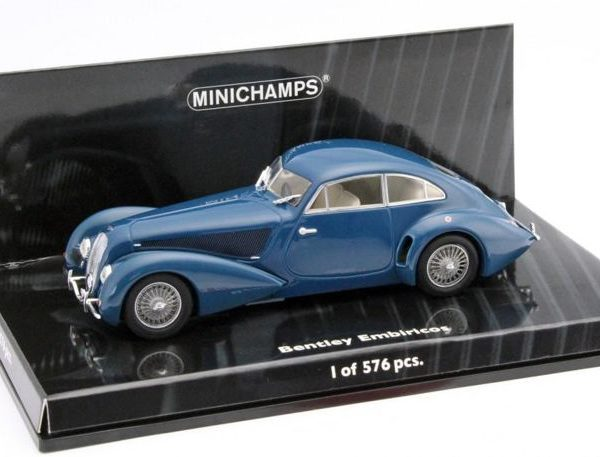 Bentley Embiricos 1939 Blauw 1-43 Minichamps Limited 576 pcs.