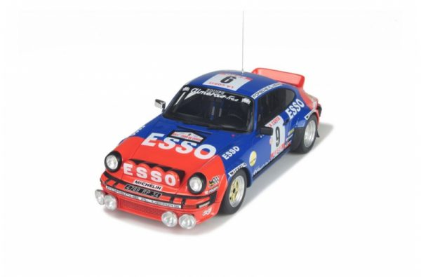 Porsche 911 SC Groupe 4 Nr #9 Winner Almeras Tour de Corse 1980 Jean Luc Thérier 1-18 Ottomobile Limited 2500 Pieces