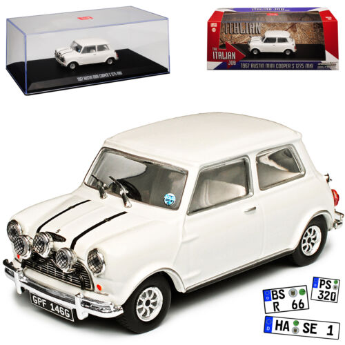 "Austin Mini Cooper S 1275 MKI 1967 ""The Italian Job"" Wit 1/43 Greenlight Collectibles"