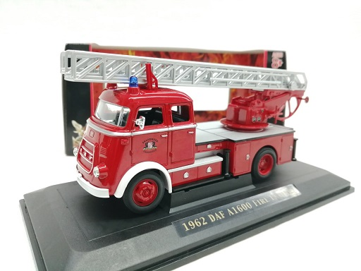 Daf A1600 Fire Engine 1962 1:43 Groen Lucky diecast