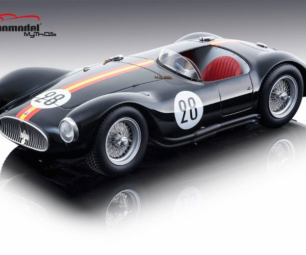 Maserati A6 GCS Le Mans 1954 Nr # 28 De Portago - Tomasi 1-18 Tecnomodel ( Resin )