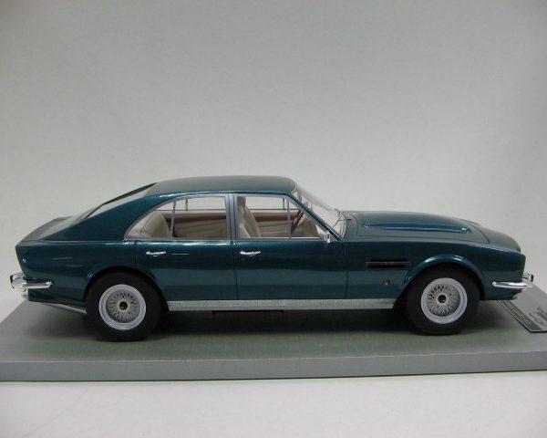 Aston Martin Lagonda Saloon 1974 V8 Four Doors 1-18 Groen Metallic Tecnomodels Limited 100 Pieces