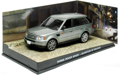 "Range Rover Sport James Bond ""Quantum of Solace"" 1-43 Altaya James Bond Collection"