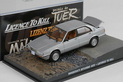 "Maserati Biturbo 425 James Bond ""Licence to Kill"" 1-43 Altaya James Bond 007 Collection"