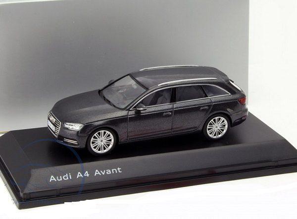 Audi A4 Avant 2016 Daytona Grey 1-43 Spark