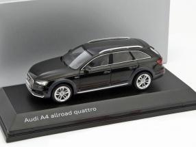 Audi A4 Allroad Quattro 2017 Myth Black 1-43 Spark