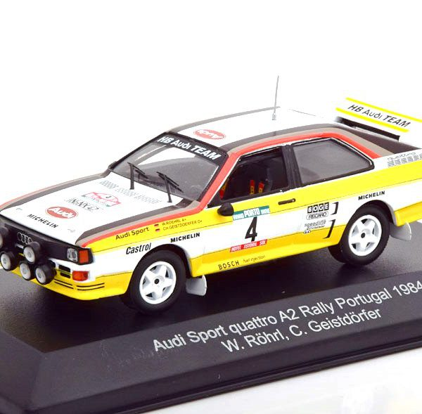 Audi Sport Quattro A2 Rally Portugal 1984 Nr# 4 W.Rohrl / C.Geistdorfer 1-43 CMR Models