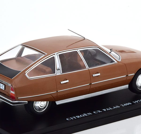 Citroen CX Pallas 2400 1976 Bruin Metallic 1-24 Atlas