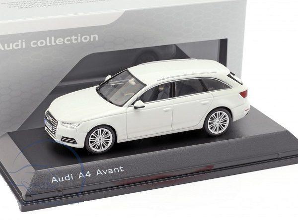 Audi A4 Avant 2016 Wit 1-43 Spark
