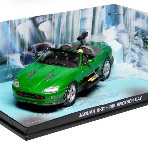 "Jaguar XKR Roadster 2002 James Bond ""Die Another Day"" Groen 1:43 Altaya James Bond 007 Collection"