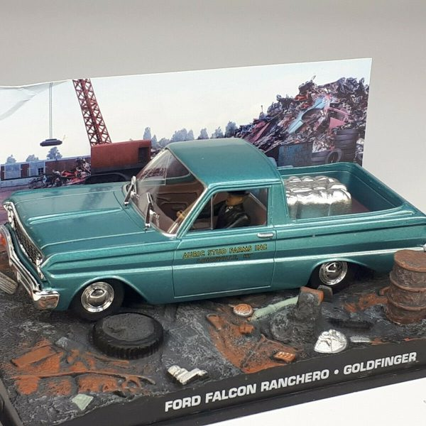"Ford Falcon Ranchero James Bond ""Goldfinger"" 1-43 Altaya James Bond 007 Collection"