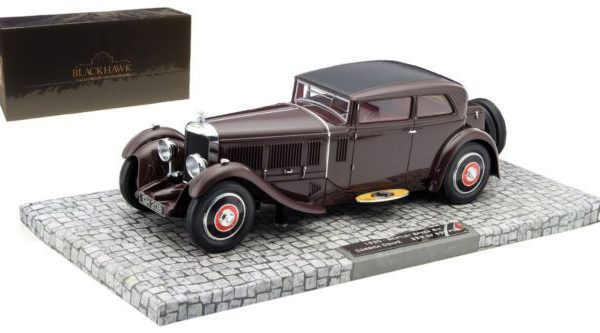 Bentley Speed Six Corsica Coupé 1930 Bordeauxrood 1-18 Minichamps Blackhawk Museum Collection Edition 2 Limited 999 pcs.