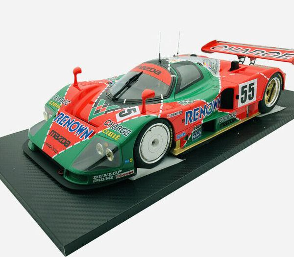 Mazda 787B #55 Winner 24Hrs. Le Mans 1991 Volker Weidler, Johnny Herbert, Bertrand Gachot 1:12 TrueScale Miniatures-Limited Edition of 999 pcs