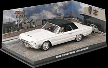 "Ford Thunderbird James Bond ""Thunderball"" Wit 1-43 Altaya James Bond 007 Collection"