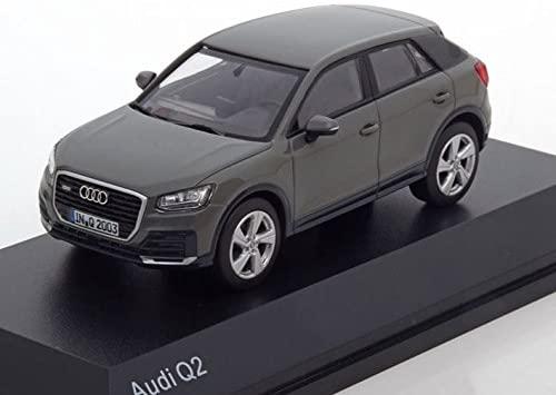 Audi Q2 2018 Quantum Grey 1-43 Iscale