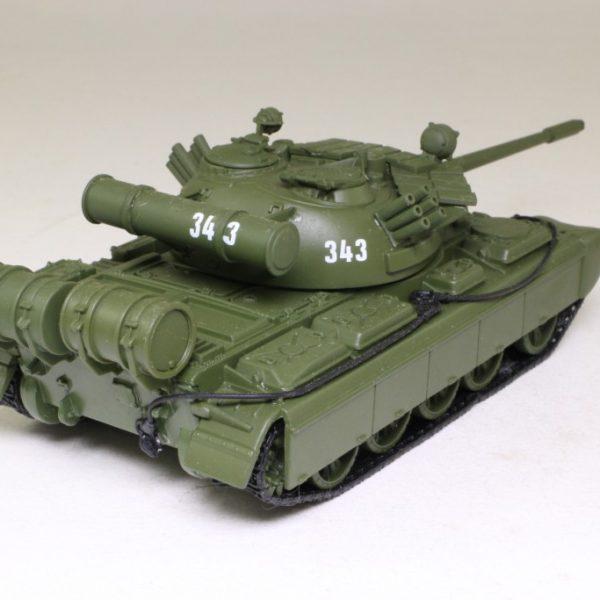 "T-55 Tank James Bond ""Goldeneye"" Groen 1-43 Altaya James Bond 007 Collection"